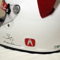 Arai GP-5X ACURA・ステッカー