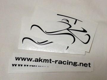 AKMTロゴ・ステッカーとURLステッカー