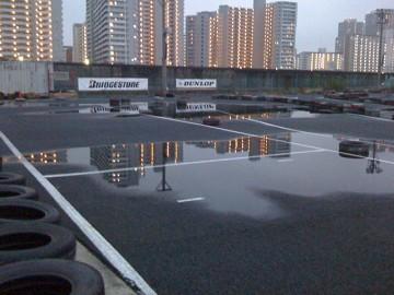 雨天のシティカート