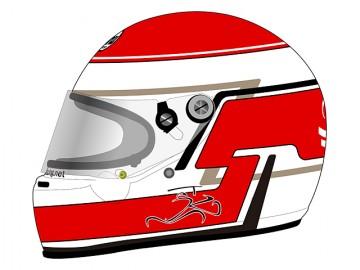 AKMTオリジナル・ヘルメット・カラーリング