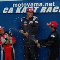CAカートレース最終戦 SS-F表彰式