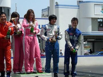 ジャパンカートカップ SK4-1クラス表彰式