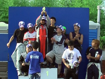 CAスポーツカート耐久第3戦、GT-1クラス表彰式