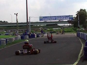 CAカートレース第5戦 AKIGASE-SSクラス レース2