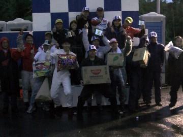 CAスポーツカート耐久第4戦、GT-1クラス表彰式