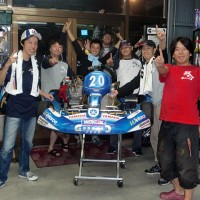 恒例のガレージCスポーツカート部 優勝記念写真