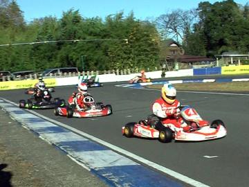 2011年CAカートレース最終戦 スーパーSS決勝ヒート