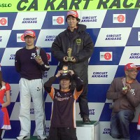 2011年CAカートレース最終戦 スーパーSS表彰式